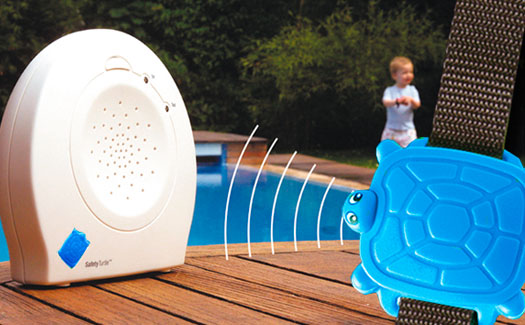 Safety turtle pensez la s curit de vos enfants for Alarme piscine portable